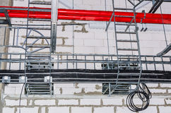 Engineering services in a building Royalty Free Stock Photography
