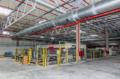 Engineering services in a building Royalty Free Stock Photos