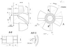 Engineering sketch of wheel with elements Royalty Free Stock Images