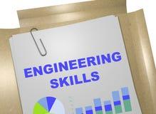 Engineering Skills - business concept vector illustration