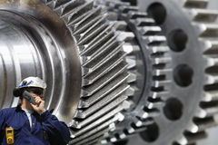 Engineering, technology and worker Stock Photos