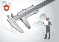 Engineering vector concept royalty free illustration