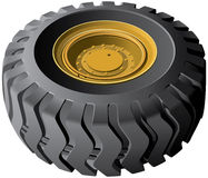 Engineering vehicles wheel Royalty Free Stock Photography