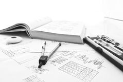 Engineering work Royalty Free Stock Image