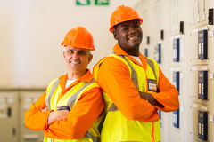 Engineers arms crossed Stock Photography