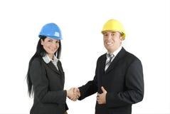 Free Engineers Handshake Royalty Free Stock Images - 7904599