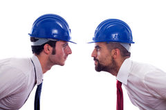 Engineers with Helmet Royalty Free Stock Photo