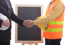 Engineers meeting for discussion and presentation concept Stock Photo