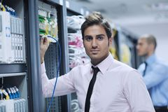 it consultant replace blade server stock photo image
