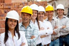 Engineers portrait Royalty Free Stock Image