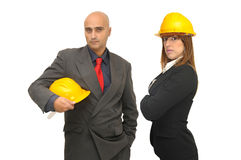 Engineers team Royalty Free Stock Photo