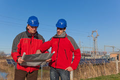 Engineers at Work Royalty Free Stock Photography