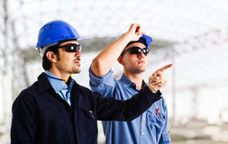 Engineers at work Royalty Free Stock Image