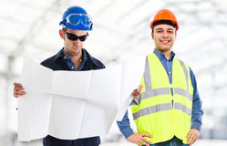 Engineers at work Stock Photos