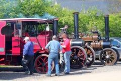 Engines de traction de vapeur Photographie stock