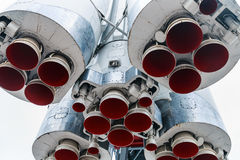 Engines and nozzle Launch vehicle Stock Images