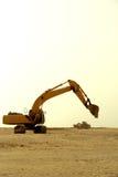 Engins de travaux publics lourds Images libres de droits