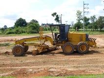 Engins de travaux publics lourds de tracteur Image libre de droits