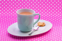 Engish tea and short bread cookies Royalty Free Stock Photography