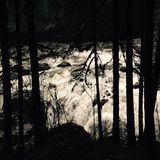 Engländer-Fluss, Britisch-Columbia, Kanada Stockbilder