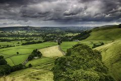 England�s Green Pastures. Royalty Free Stock Image