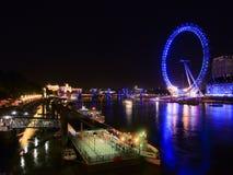 england öga london Arkivfoton