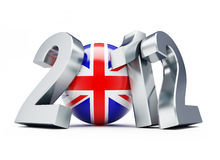 England 2012. Sports on a white background vector illustration