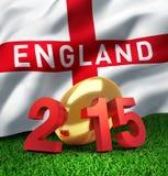 England 2015 Vektor Illustrationer