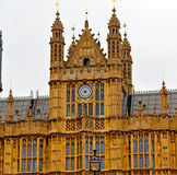 england  aged city in london big ben and historical old construc Stock Photography
