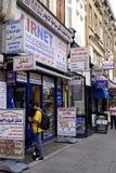 ENGLAND_ARAB商业区 图库摄影