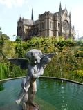 England: Arundel cathedral Stock Photography