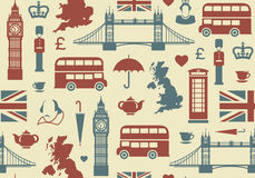 England bakgrund Arkivbilder