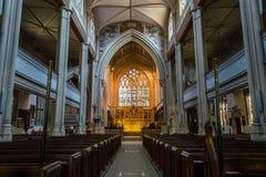 ENGLAND, BATH - 29 SEP 2015: St Mary The Virgin, Bathwick, Engli. Sh Church - Nave Royalty Free Stock Photos