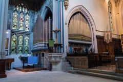 ENGLAND, BATH - 29 SEP 2015: St Mary The Virgin, Bathwick, Engli. Sh Church - Organs Royalty Free Stock Photography