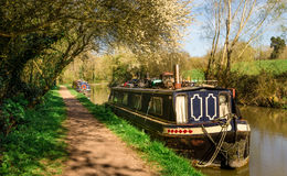 England - Binnen-Schifffahrt lizenzfreie stockfotos