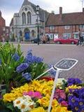 england blommar marknadsstratfordgatan Arkivfoton