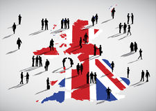 England Business Vector. The vector of England Business royalty free illustration