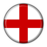 England button flag round shape Stock Photos