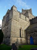 England: Cartmel Priory church Stock Photography
