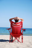 England chair  Stock Image