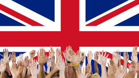 England Country Flag Nationality Culture Liberty Concept Stock Image