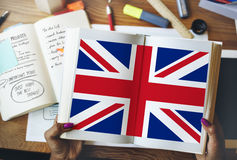 England Country Flag Nationality Culture Liberty Concept Royalty Free Stock Images