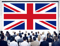 England Country Flag Nationality Culture Liberty Concept.  Royalty Free Stock Photography