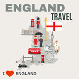 England Culture For Travelers Poster Stock Photos