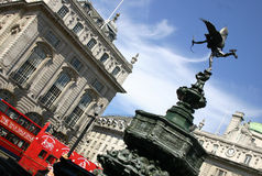 England cyrk piccadilly London obraz stock