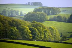 England derbyshire peak district national park Stock Photo