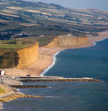 England dorset bridport jurass stock photography