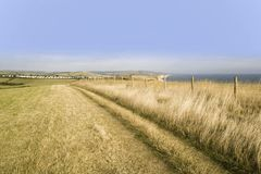 England dorset bridport jurassic coast eype mouth dorset coast p Royalty Free Stock Image
