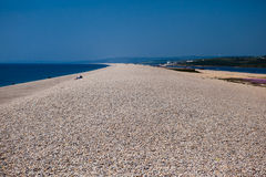 Chesil beach, Dorset, UK Stock Photography