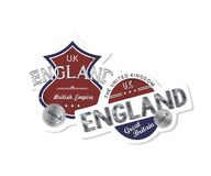 England emblem Stock Images